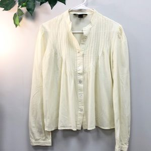 Marc Jacobs | Pale yellow baby doll blouse M/8